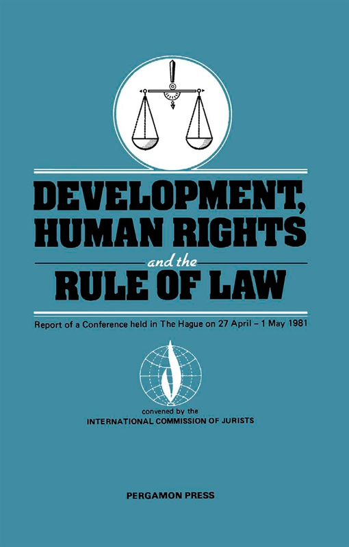 Development, Human Rights and the Rule of Law