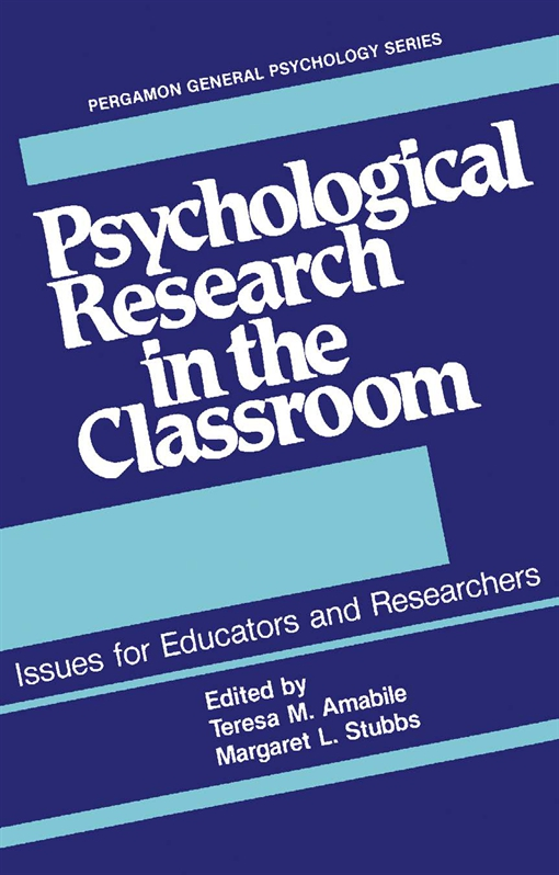 Psychological Research in the Classroom