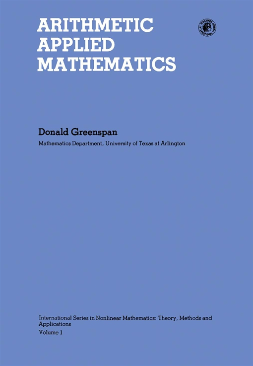 Arithmetic Applied Mathematics
