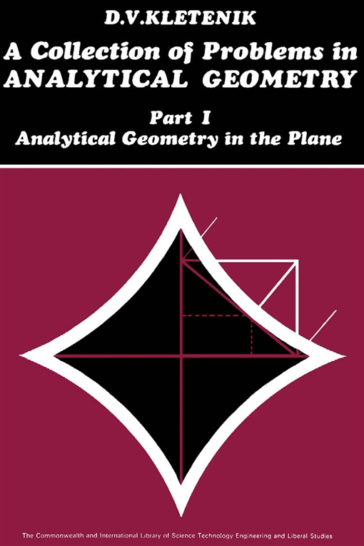 A Collection of Problems in Analytical Geometry