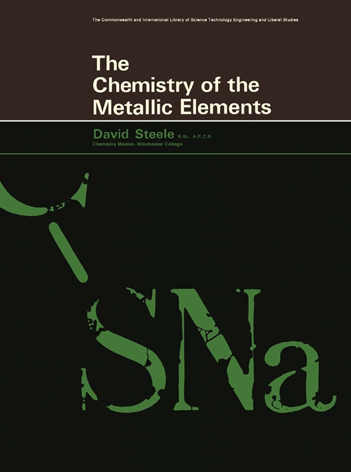 The Chemistry of the Metallic Elements