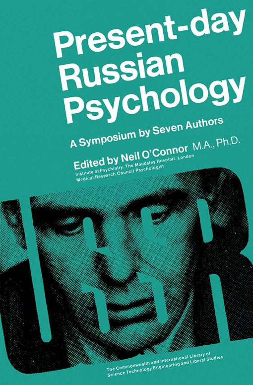 Present-Day Russian Psychology