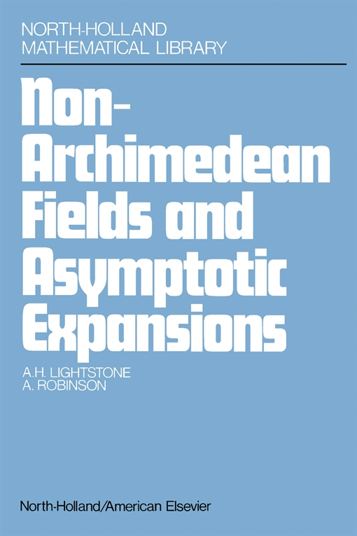 Nonarchimedean Fields and Asymptotic Expansions