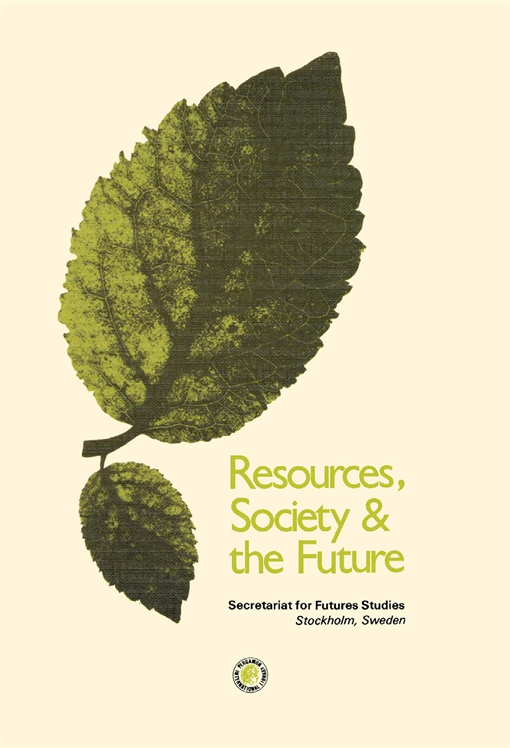 Resources Society and the Future