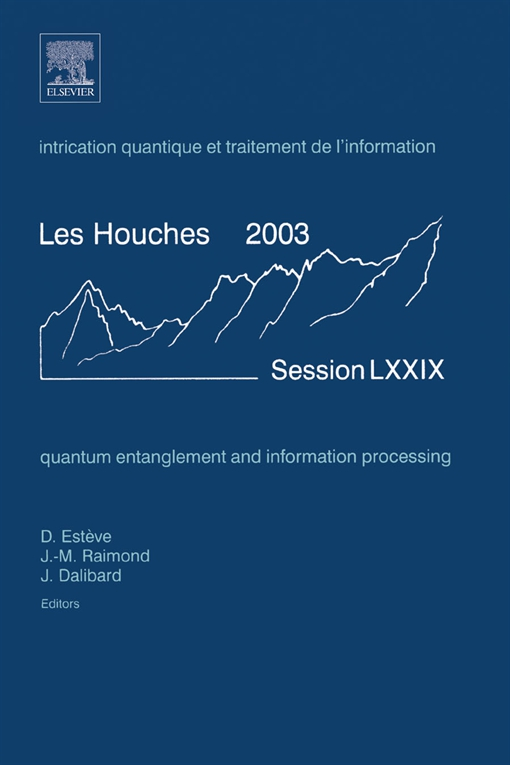 Quantum Entanglement and Information Processing
