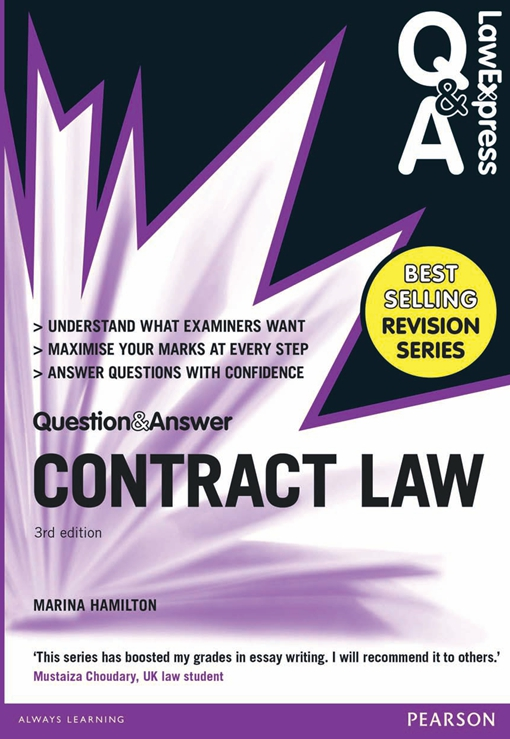 Law Express Question and Answer: Contract Law (Q&A revision guide)