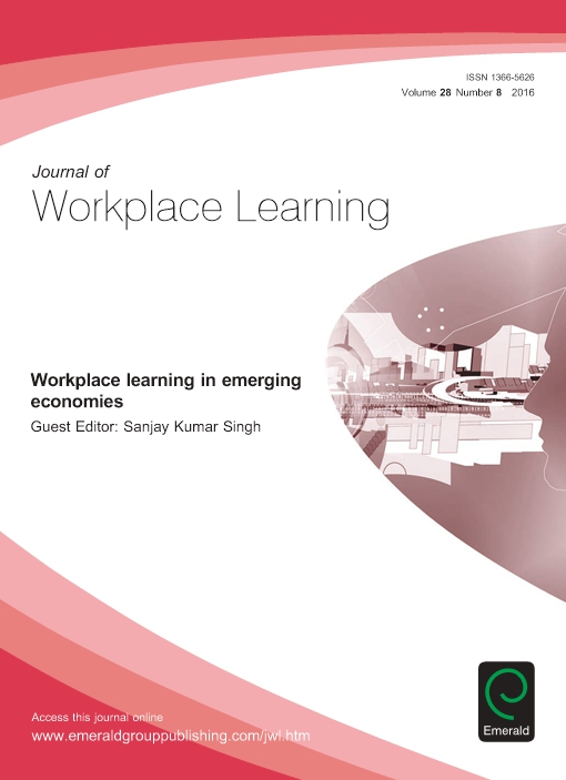 Workplace learning in emerging economies