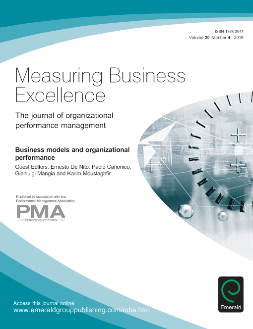 Business Models and Organizational Performance