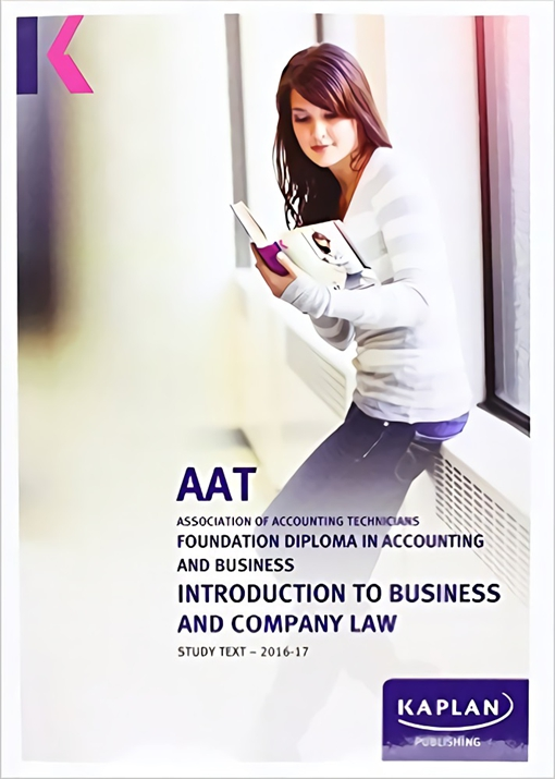 Introduction to Business and Company Law - AAT Study Text