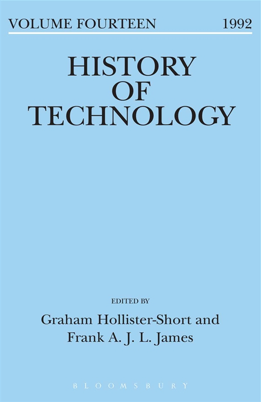 History of Technology Volume 14