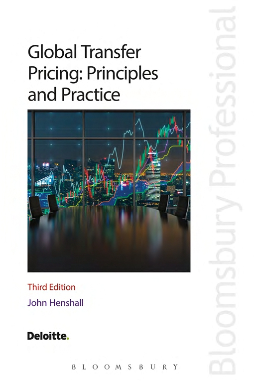 Global Transfer Pricing: Principles and Practice