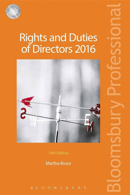 Rights and Duties of Directors 2016