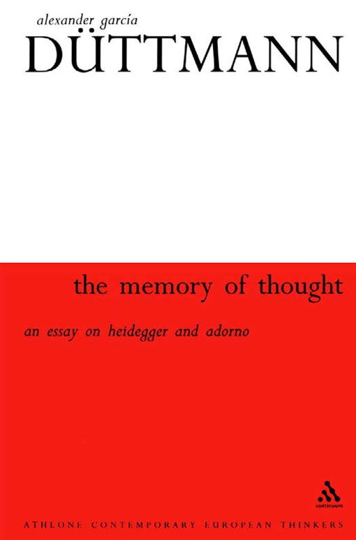 Memory Of Thought