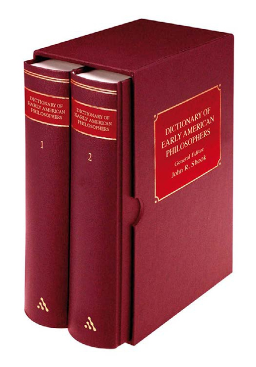 Dictionary of Early American Philosophers