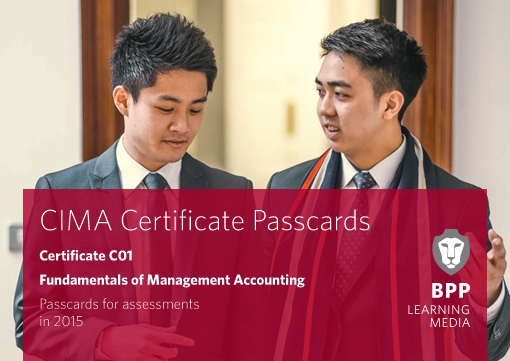 CIMA Fundamentals of Management Accounting - Passcards