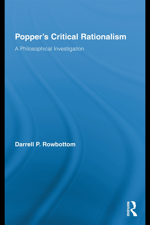 Popper's Critical Rationalism