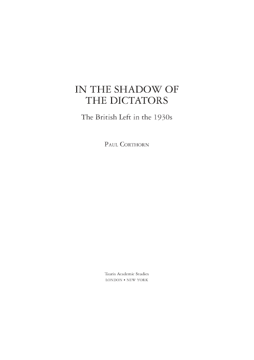 In the Shadow of the Dictators