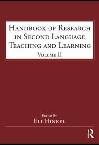 Psycholinguistics ebooks kortext handbook of research in second language teaching and learning fandeluxe Image collections