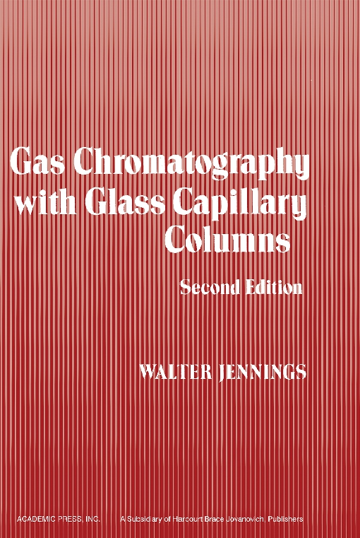 Gas Chromatography with Glass Capillary Columns