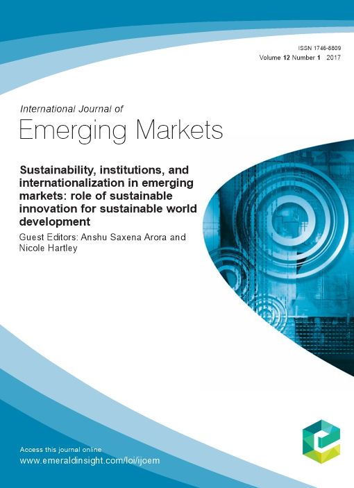 Sustainability, Institutions, and Internationalization in Emerging Markets