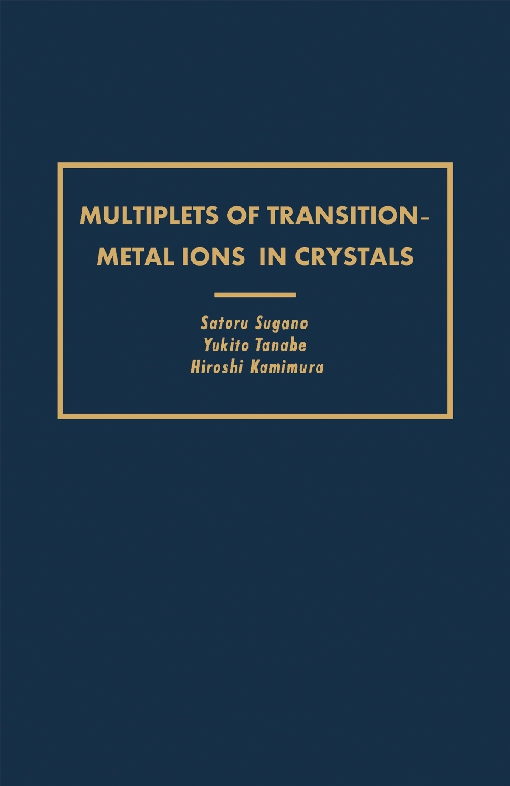 Multiplets of Transition-Metal Ions in Crystals