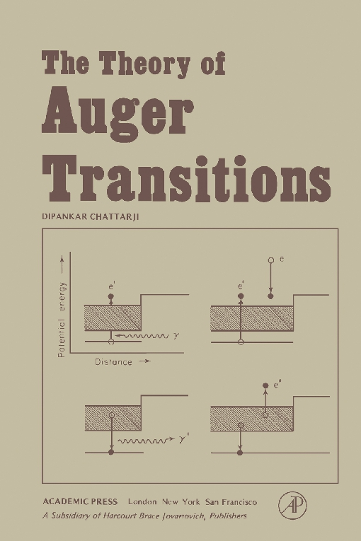 The Theory of auger Transitions