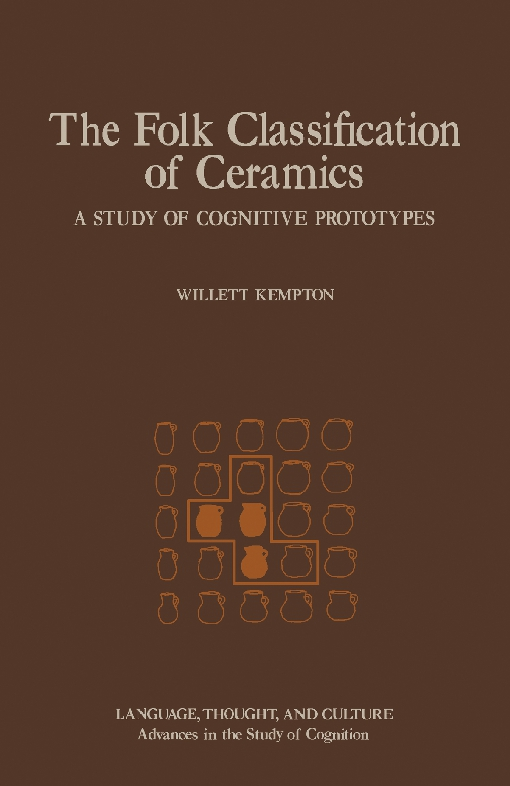 The Folk Classification of Ceramics