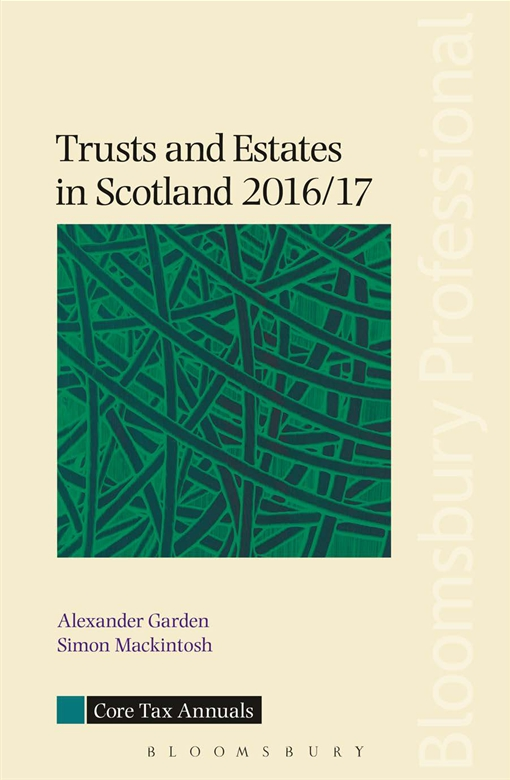 Trusts and Estates in Scotland 2016/17