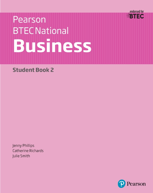 BTEC Nationals Business Student Book 2