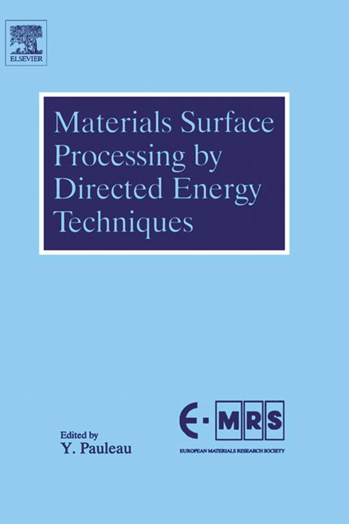 Materials Surface Processing by Directed Energy Techniques