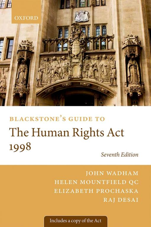 Blackstone's Guide to the Human Rights Act 1998