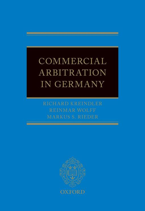 Commercial Arbitration in Germany