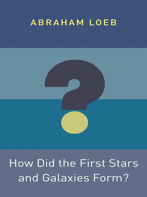How Did the First Stars and Galaxies Form?