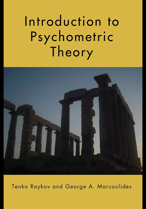 Introduction to Psychometric Theory