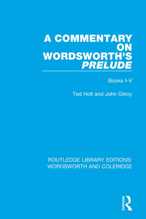 A Commentary on Wordsworth's Prelude