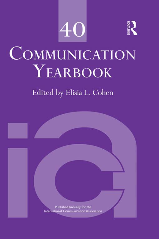Communication Yearbook 40