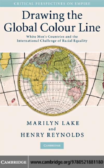 drawing the global colour line lake marilyn reynolds henry