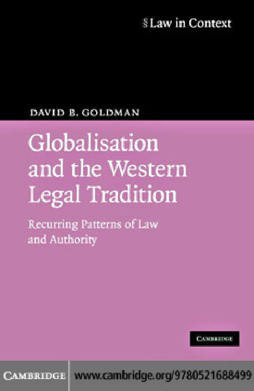Globalisation and the Western Legal Tradition