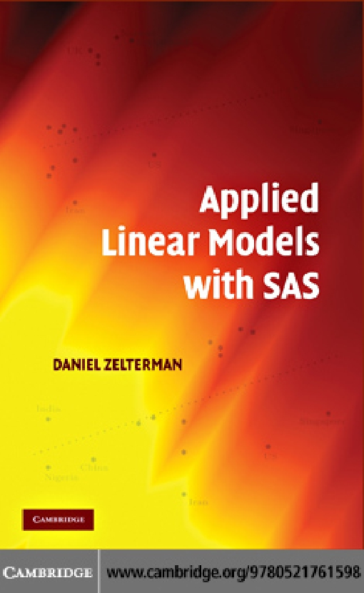 Applied Linear Models with SAS