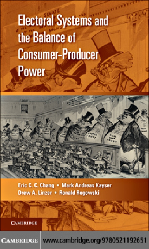 Electoral Systems and the Balance of Consumer-Producer Power