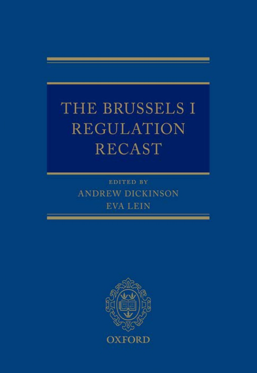 The Brussels I Regulation Recast