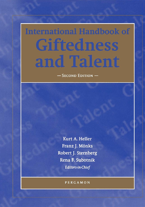 International Handbook of Giftedness and Talent