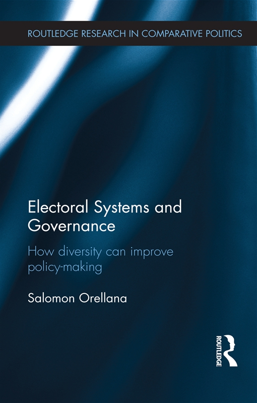 Electoral Systems and Governance