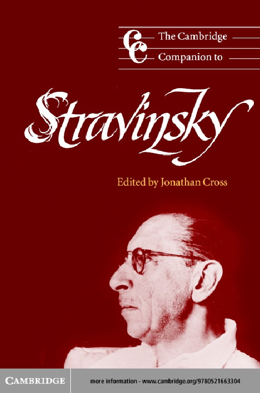 The Cambridge Companion to Stravinsky