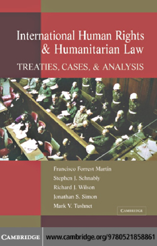 International Human Rights and Humanitarian Law