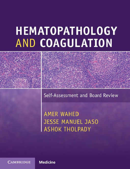 Hematopathology and Coagulation
