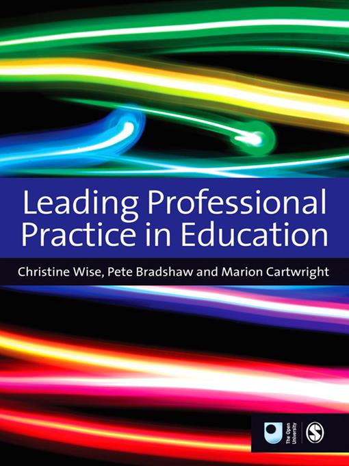 Leading Professional Practice in Education