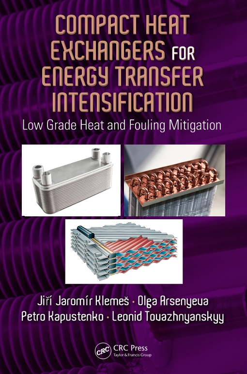 Compact Heat Exchangers for Energy Transfer Intensification