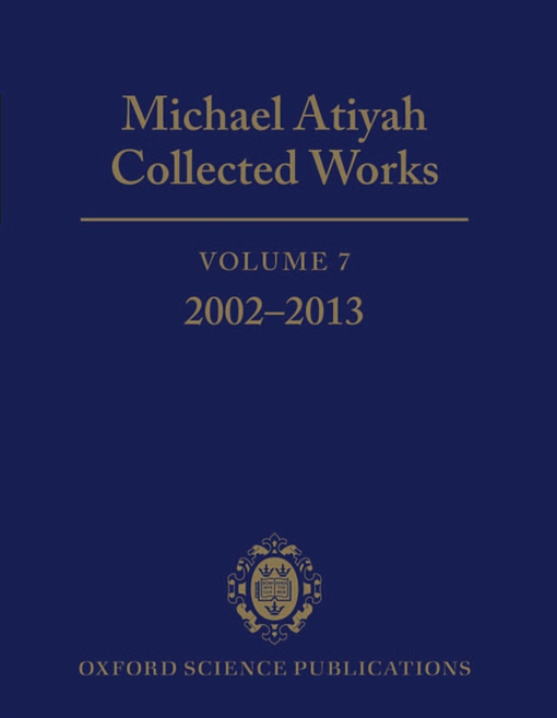 Michael Atiyah Collected Works