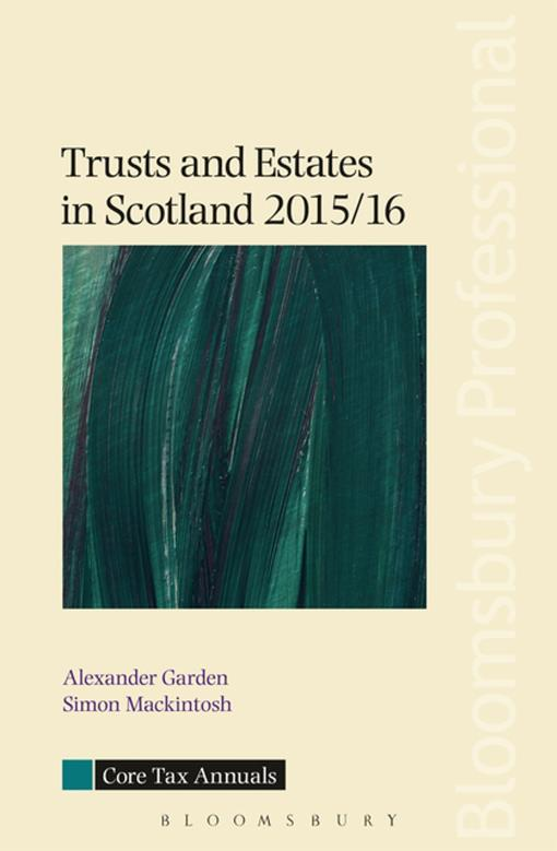 Trusts and Estates in Scotland 2015/16